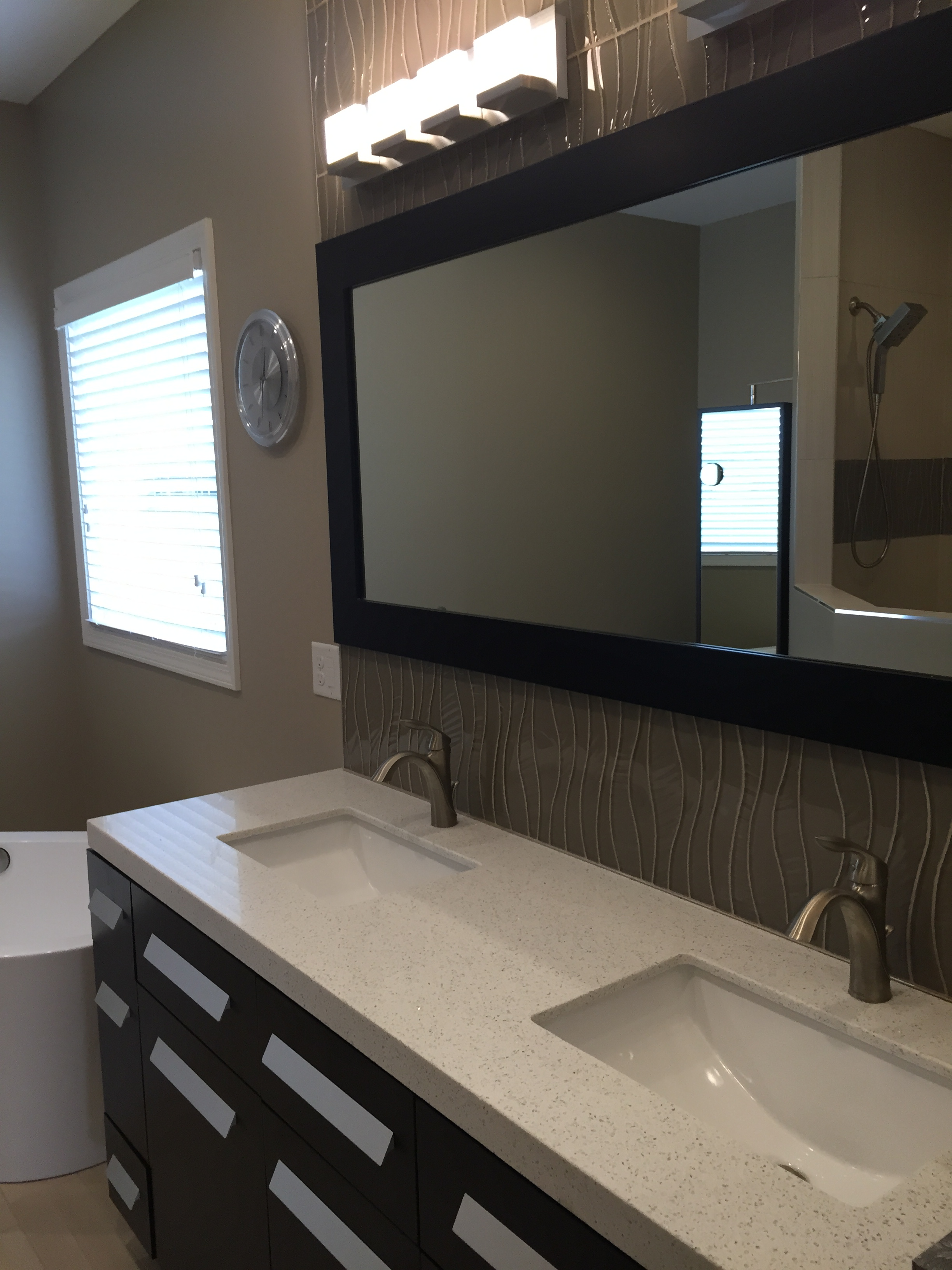 New Construction Master Bathroom